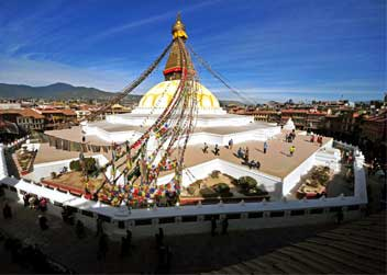 Tour in Bouddha Stupa
