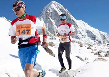Everest Marathon Sports tour Nepal
