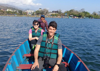 boating at phewa