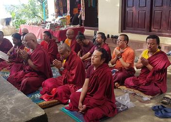 Monk of Namobuddha