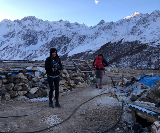 Trek Lama Hotel to Thulo Syabru Village (2210m/7248ft) approx. 13kms: 6-7 hrs (B, L, D)