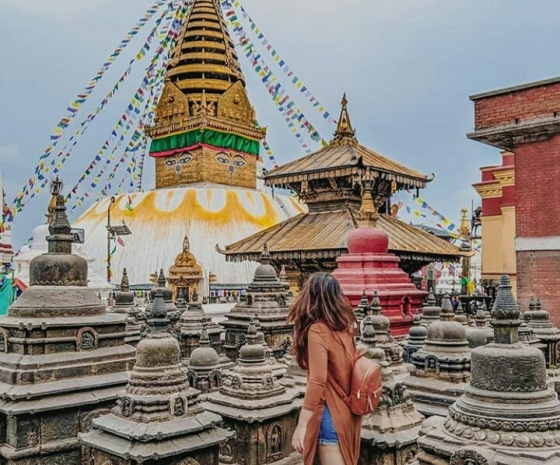 UNESCO Heritage Sites Tour in Kathmandu Valley: Sightseeing at Patan Durbar Square, Swayambhunath, Boudhanath & Pashupatinath followed by evening Aarati: 8-9 hours (B)