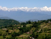 Hiking Through Villages & Hills with Panoramic Himalayan View