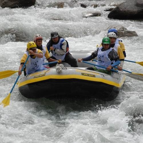 Day rafting at Trisuli River