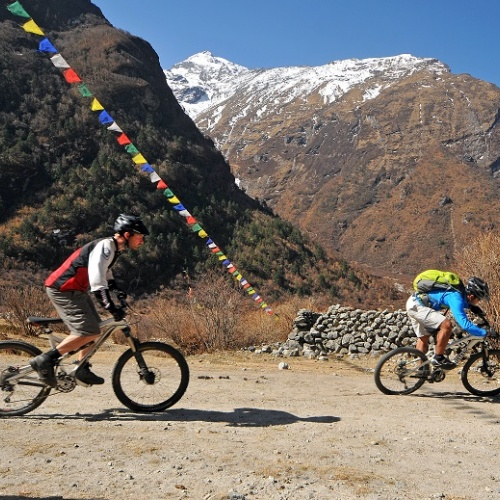 Mountain Biking Trip around Kathmandu valley